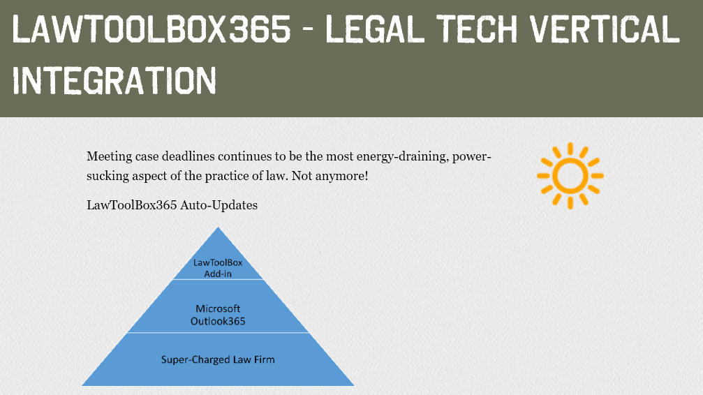 The Law Firm Tech Vertical Super-charges Law Firms