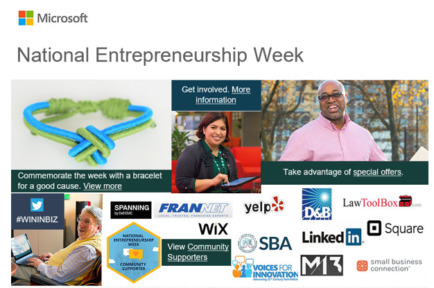LawToolBox spotlighted in Microsoft's National Entrepreneurship Week