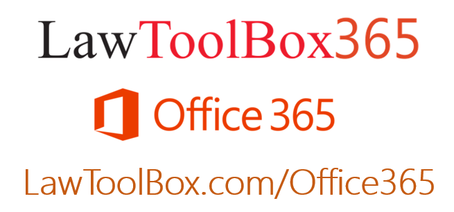 Lawtoolbox and Office365 logo