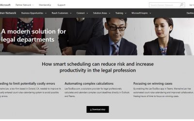 Microsoft Teams Story – A Modern Solution for Legal Departments