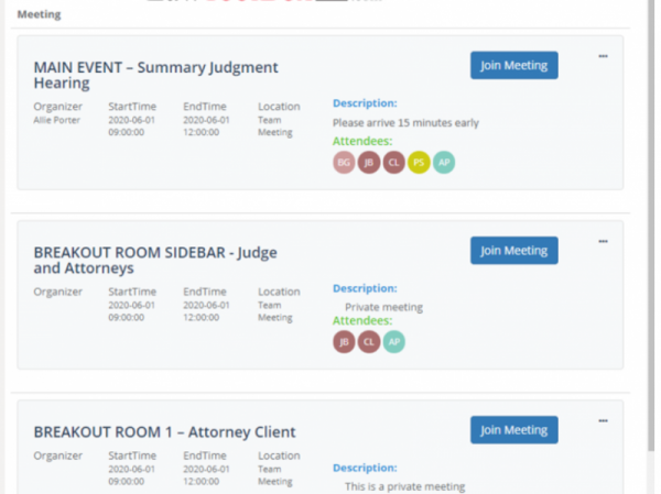 LawToolBox Automates Breakout Rooms for Virtual Court Hearings in Microsoft Teams