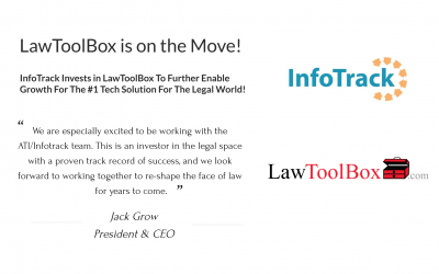 InfoTrack Invests In LawToolBox To further Enable Growth For The Future.
